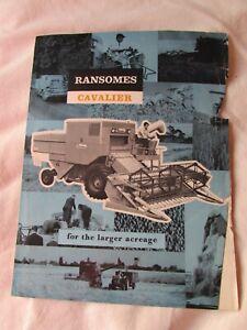@Ransomes Cavalier  Combine Brochure@
