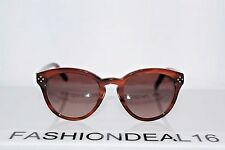 6aabe4ee50 New Chloé Women's Stripped Brown CE630S 282 Chloe 50-20-135 Sunglasses