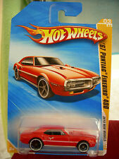 Hot Wheels '67 Pontiac Firebird 400 2010 New Models Red