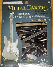Electric Lead Guitar Metal Earth 3D Laser Cut Metal Model Fascinations Band