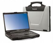 Gepanzert Laptop Panasonic CF-52 MK3 i5-520M 8GB/240GB SSD 1280x800 RS232 Win10