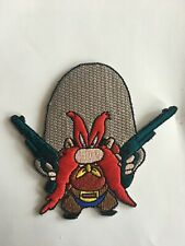 """Yosemite Sam  """"Back Off"""" (Loony Tunes)  Embroidered Patch-New"""
