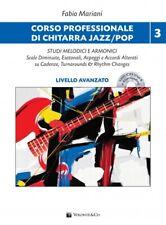 F. Mariani - CORSO PROFESSIONALE DI CHITARRA JAZZ/POP Vol. 3 - Livello Avanzato