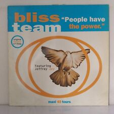 "Bliss Team ‎– People Have The Power (Vinyl, 12"", Maxi 33 Tours)"