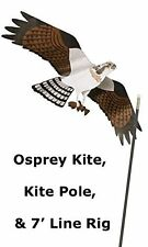 Jackite Osprey Kite & Telescoping Pole - Natural Pest Repellent for Boat 28""