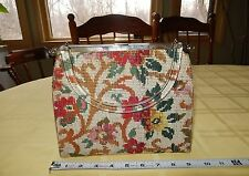 Rare Unique VTG Lucite Needlepoint Bag Purse turns into evening bag!