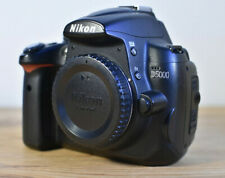 FAULTY NIKON D5000 DSLR CAMERA BODY WITH BATTERY