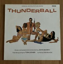 John Barry / Thunderball Original Motion Picture Score - Vinyl Album EMS1268 EX