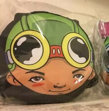 Hebru Brantley (FLYBOY) Nevermore Park Pillow Plush Exclusive SEALED LIMITED