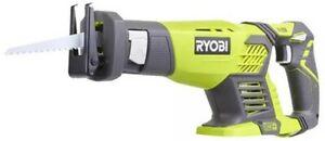 Scie Droites D'Élagage A Aiguillat Commun Ryobi 18V Une + RRS1801M No Batterie