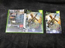 Boîte de jeux vide avec la notice / MEDAL OF HONOR  soleil levant , Xbox