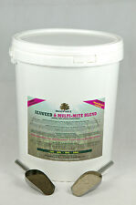 Diatomaceous Earth & Seaweed Blend 10kg Bucket - ULTIMATE FEED WORMER SUPPLEMENT