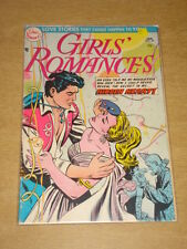 GIRLS ROMANCES #30 VG (4.0) DC COMICS JANUARY 1955