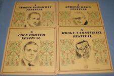 8 LP Longines Records George Gershwin Cole Porter Hoagy Carmichael Jerome Kern