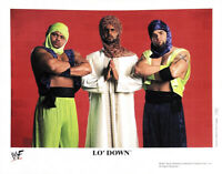 WWE LO' DOWN P-683 OFFICIAL LICENSED 8X10 PROMO PHOTO VERY RARE