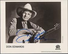 Don Edwards   Autograph , Hand Signed Photo