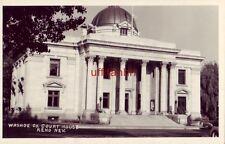 Circa 1940 RPPC WASHOE CO. COURT HOUSE, RENO, NV.