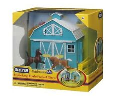 Breyer stablemates 5932 FROLICKING puledri Pocket Barn giocattolo 1:32 Free Tracked POST