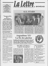 LA LETTRE Dargaud n°9. SAVARD. janvier 1993.  Etat neuf