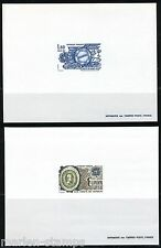 FRANCE  EUROPA 1982 DELUXE CARDS   SC#1827/28   YVERT#2207/08  NO GUM MINT NH
