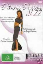 Fitness Fusion - Jazz - Bellydance For Beginners New DVD Region 4 Sealed