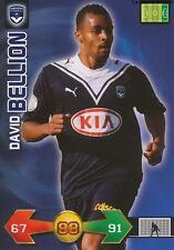 DAVID BELLION # FRANCE GIRONDINS BORDEAUX CARD CARTE PANINI ADRENALYN FOOT 2010