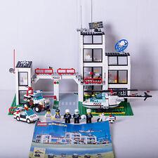 Lego 6398 Stazione di Polizia con Prigione e Eliporto Città Legoland Town (1986)