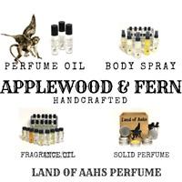 APPLEWOOD & FERN Perfume / Fragrance Oil / Body Spray / Cedar Woods Sweet Scent