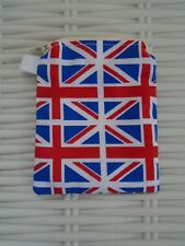 FABRIC UNION JACK PURSE IDEAL FOR COINS LINED HAND MADE IN UK GIFT IDEA FLAG