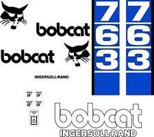 763 d Replacement decals decal kit / sticker set skid loader steer fits bobcat