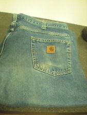 """Carhartt Denim Relaxed Fit Jeans 381-83 Size 40"""" x 32""""  Good Condition - #5S.23"""