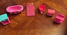 Moose Shopkins House Plastic Furniture (6 Pieces,1.25