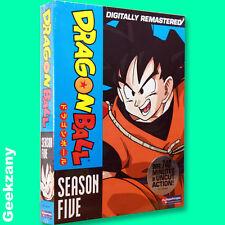 Dragon Ball - Season 5 (DVD, 2008, 5-Disc Set, Uncut) Digitally Remastered NEW