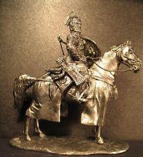 Soldado De Plomo Juguete, Mongol Khan, en el caballo, Coleccionable, rara, Regalo, na