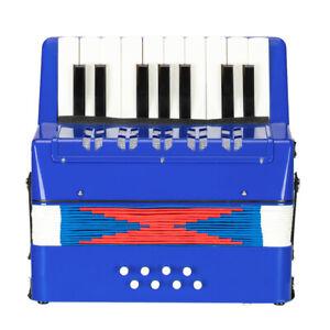 17-Key 8 Bass Kids Accordion Children's Mini Musical Instrument Easy Practise