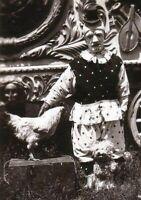 Antique Clown Pets Photo 788 Oddleys Strange & Bizarre