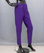MASAI Trousers Purple Ribbed Harem Pants Elasticated Waist XL