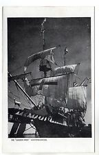 Golden Hind - Southend on Sea Photo Postcard c1950s / Ships