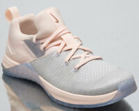 Nike Metcon Flyknit 3 Metallic Womens Matte Silver Training Shoes BQ8797-001