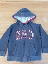 aged 2 years fleece material red stripes unisex BNWT Gap hoodie