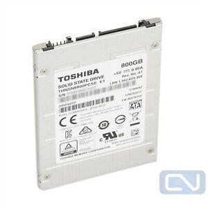 "Toshiba HK4E THNSN8800PCSE 800GB SATA 6Gb/s 3 DWPD 2.5"" SSD"