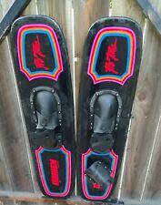 "Rare 42"" Obrien Pro Trac Graphite Trick Water Skis W O'Brien Bindings Very Good"