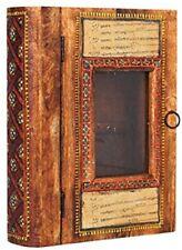 Wooden Handicraft Calligraphy Book Shape Key Holder Box/Wooden Key Box