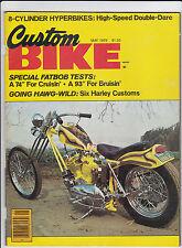 Vintage CUSTOM BIKE Magazine December 1976