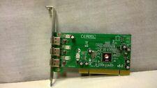 SIIG FireWire 3-Port PCI Adapter Card Three External IEEE 1394 Port NN-400012-S8