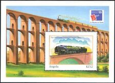 Angola 1999 Philex France/Trains/Steam Engine/Railways/Rail/StampEx  m/s n15831a