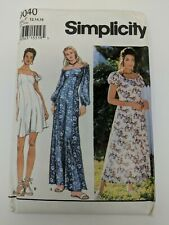 Simplicity Sewing Pattern 9040 Petite Dress Flared Jumpsuit in Two Lengths FF UC