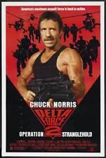 DELTA FORCE 2: OPERATION STRANGLEHOLD Movie POSTER 27x40 B John P. Ryan Chuck