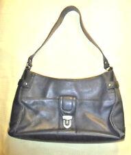 Preston & York Navy Blue Pebbled soft leather Handbag