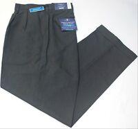 Croft & Barrow True Comfort Dress Charcoal Pants with opticool Pleated